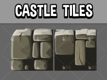castle and dungeon stone tiles