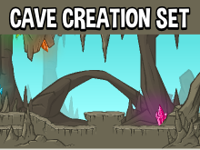 cave level creation pack