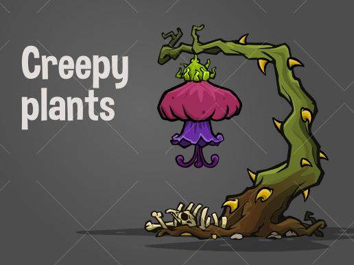 creepy plants