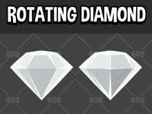 rotating diamond