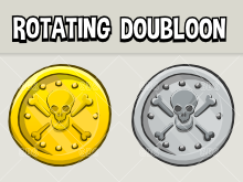 rotating doubloon