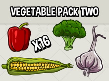 vegetable icon pack two
