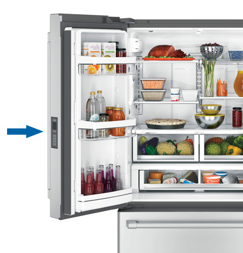 Bottom Freezer Refrigerator Turn Cooling On Off Not Cooling Membrane Control Style