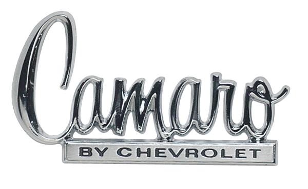 Trim Parts 6836 Trunk Lid Emblem 1967-81 Camaro