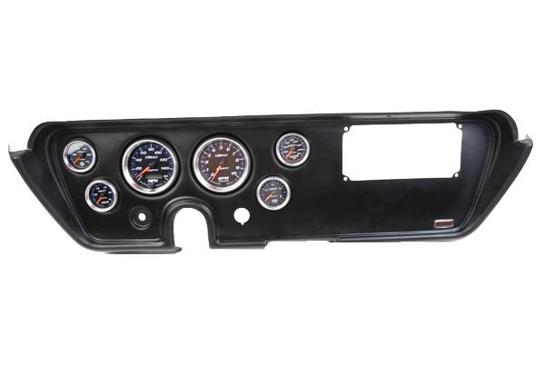 1964-72 GTO John Covan's Thunder Road Black 6 Gauge Panel Electric