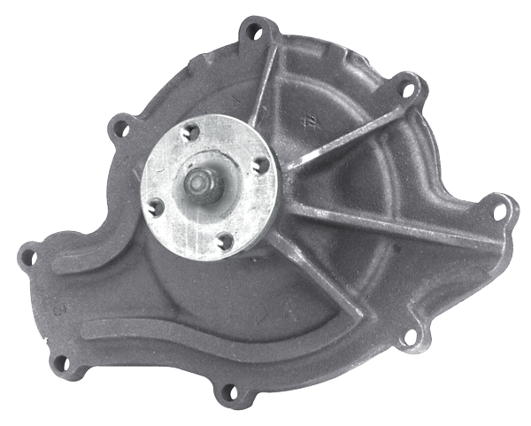 1964-72 GTO -- Heating - Cooling / Water Pumps - Pulleys and