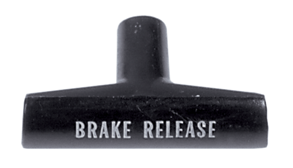 1968-1972 models parking brake handle.