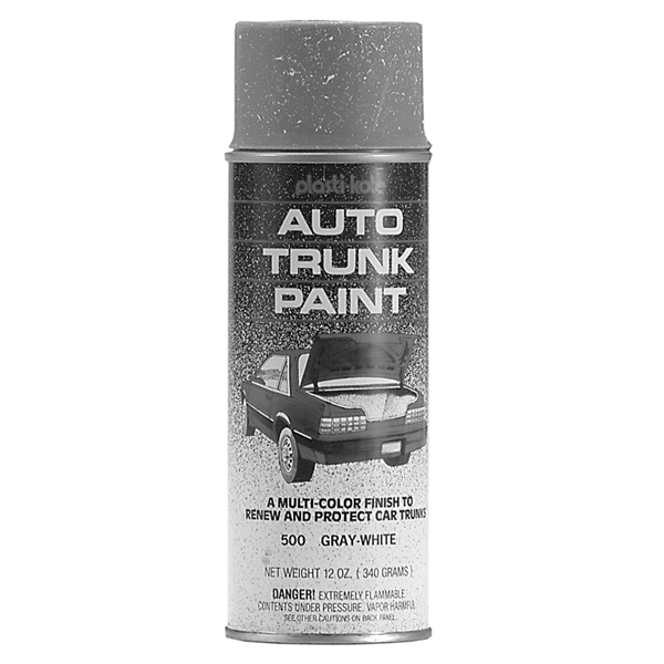 Trunk spatter paint for 1964-1972 models. 12-oz. spray. Grey/White Color : Grey/White