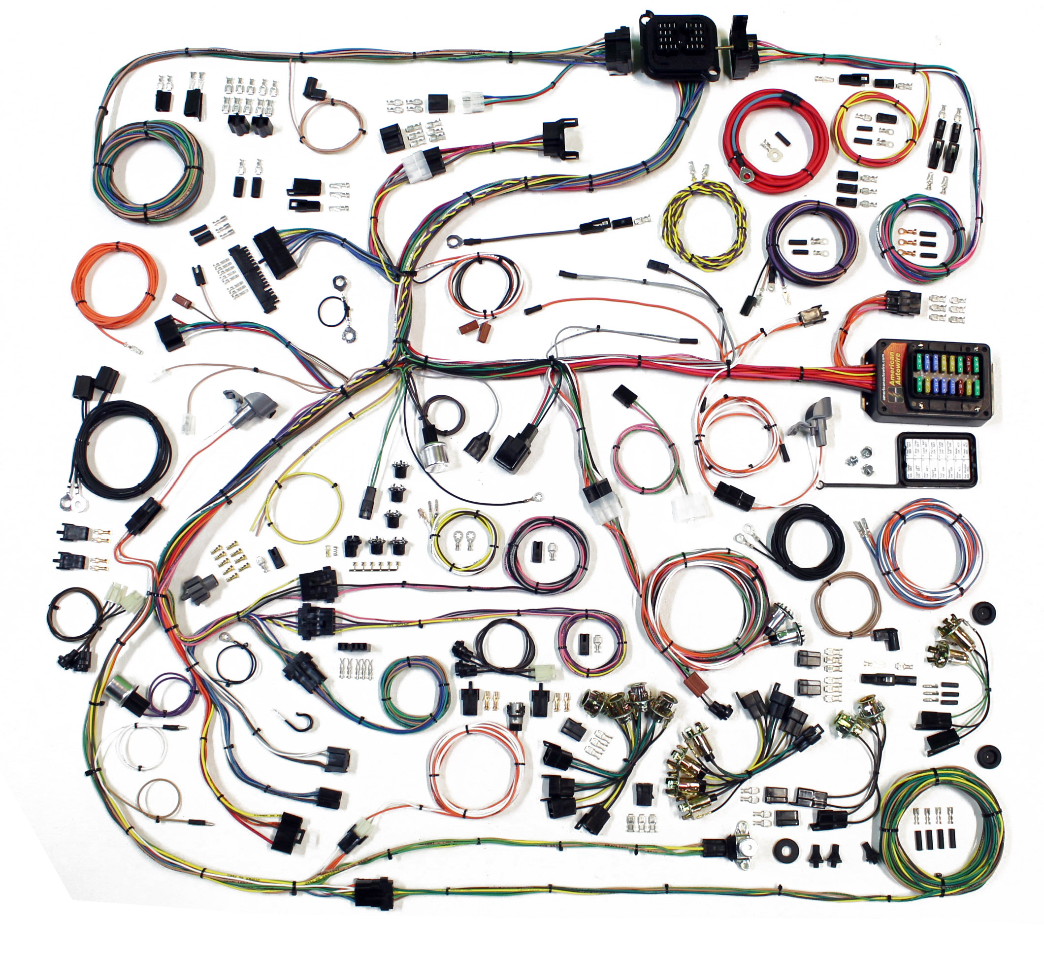 1968-1970 American Autowire B Body classic update complete wiring harness  kit.