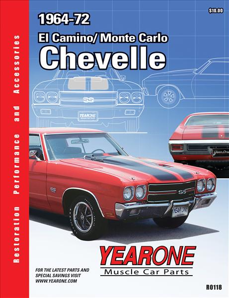 Yearone 1964 1972 Chevelle Catalog