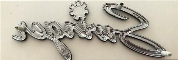 3445985 3505419 70 71 72 73 74 75 DART Fender Quarter panel  Trunk lid  emblem