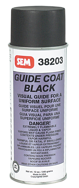 Guide coat, 13-oz. spray can.