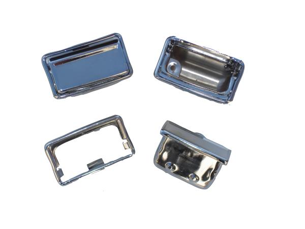 Reproduction ashtray and bezel set. Fits 1971-1974 E-body models.