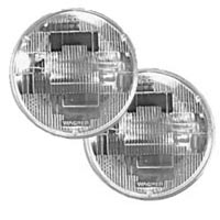 5-3/4 round low-beam non-halogen light pair for 4 headlight systems.