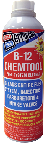 Berryman B-12 Chemtool. Fuel Additive. 15oz bottle.