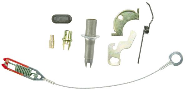 LH drum brake self-adjuster kit fits 1969-1974 B-body models with 10 drums, front or rear.