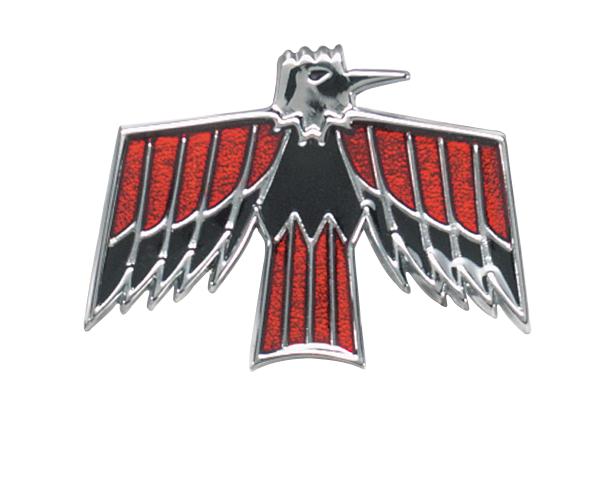 Grant 5635 horn button red Pontiac Arrow logo