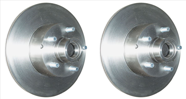 1966-1969 Mopar B-body 1 PAIR of 11 inch front disc brake rotors for models with 4-piston brake calipers.  PAIR