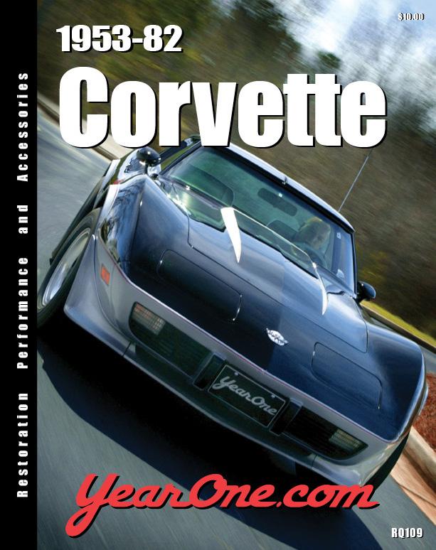 YearOne 1953-1982 Corvette catalog.