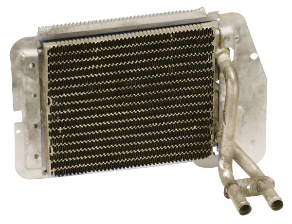 Heater core fits 1970-1974 E-body with A/C.