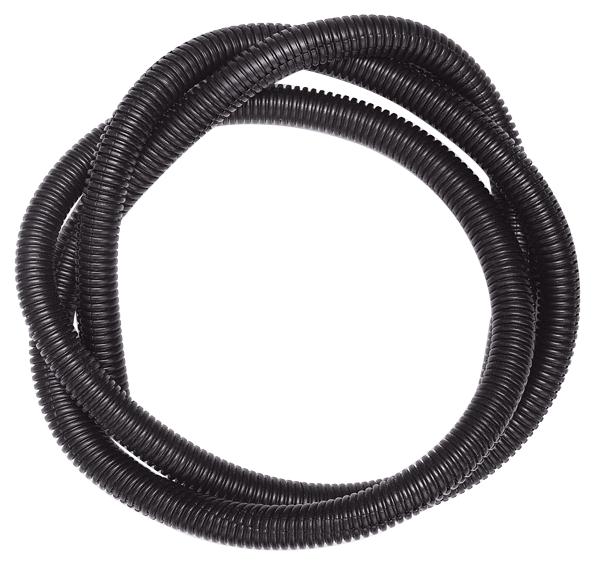 "Convolute tubing, 1/2"" diameter."