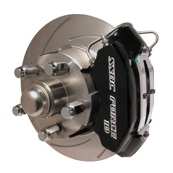 Ssbc A153-3 Force 10 front power disc brake kit