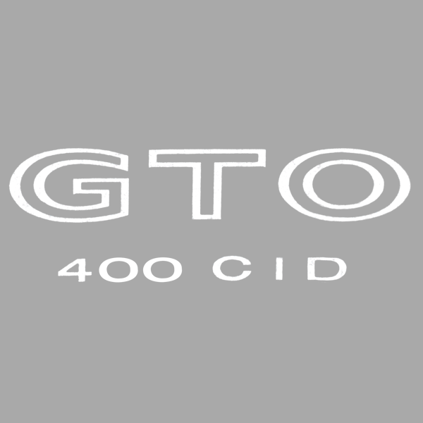 1964-72 GTO -- Stripes - Decals / Stripe Kits/Body Decals /