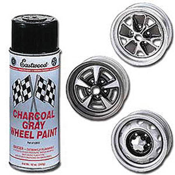 Charcoal gray wheel paint 12 oz aerosol for Charcoal gray paint