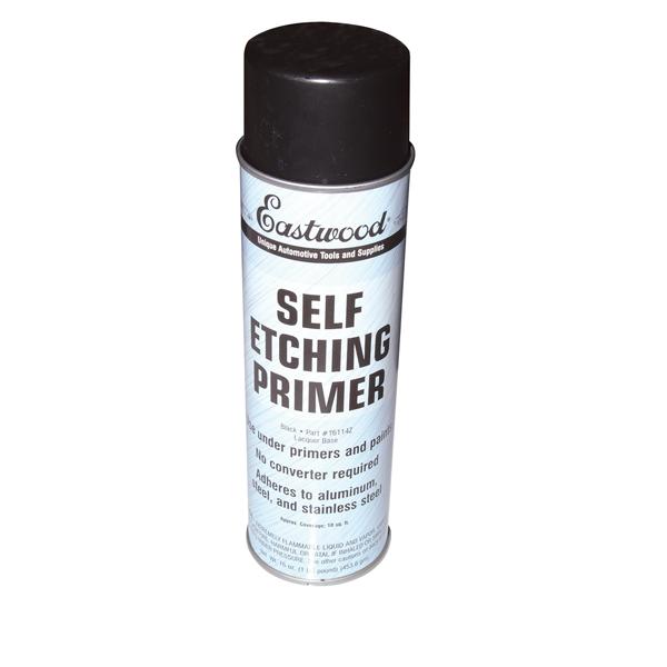 Black Self-Etching Primer, 16-oz aerosol.