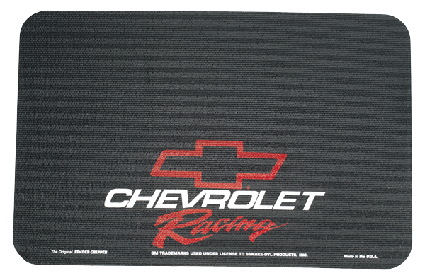 Fender Gripper fender cover with Chevrolet Racing logo. Color : Black