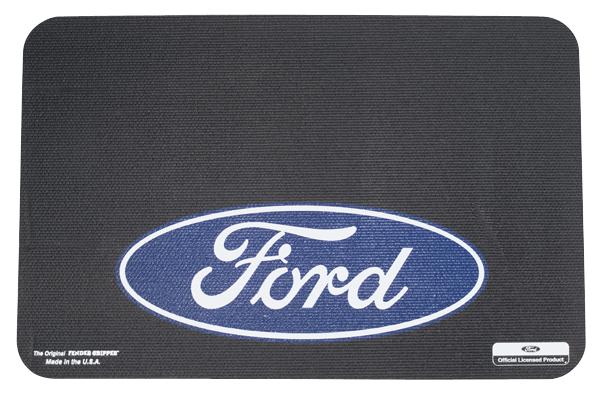 Fender Gripper fender cover with Ford Blue Oval logo. Color : Black