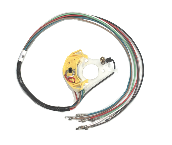Turn signal switch for 1967-1969 A-body, B-body and 1969 C-body models without cornering lights.