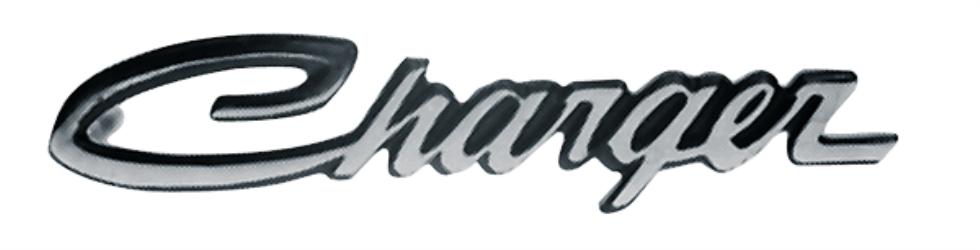1968-1970 Charger Sail panel emblem. Reproduction.