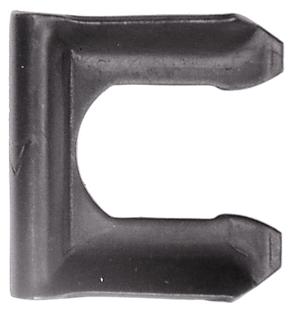 Front and rear brake hoses retainer clip for 1962-1974 models.