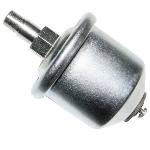 Oil pressure sending unit for 1968-1974 Chrysler models with factory gauges.