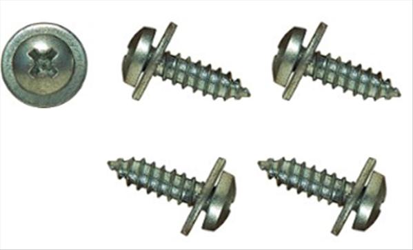 """#10 X 11/16"""" Long Pan Head Screws Used in Various Applications. Set of 4."""