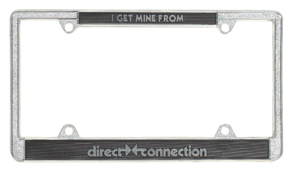 1966-74 A B E-Body Direct Connection License Plate Frame