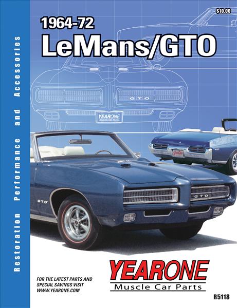 Yearone 1964 1972 Lemans Gto Catalog