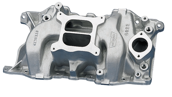 Holley 8022 Weiand Stealth High Rise Dual Plane Intake Manifold 1966