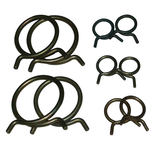 Hose clamp kit fits 1970 models with 383 and 440 engines.