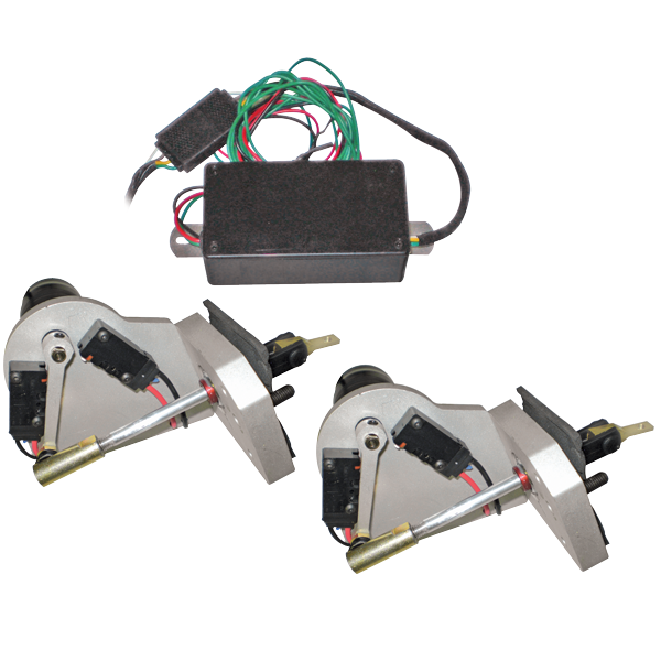 Headlight door electric actuator conversion kit for 1968-1969 Charger models.  sc 1 st  YearOne & CS305 Headlight Door Electric Actuator Conversion Kit 1966-74 A B E-Body