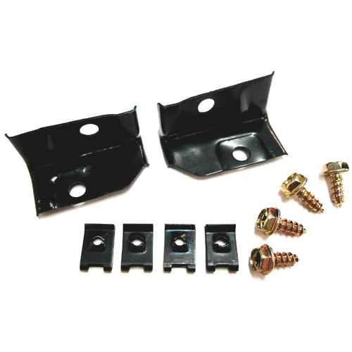 2 Piece Set 1970 Chevelle /& Elcamino Radiator Support Brackets
