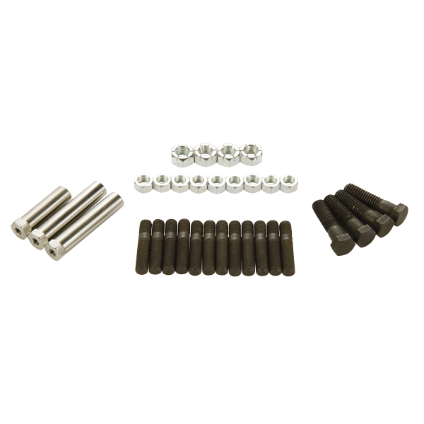 1968-1969 B-Body Complete Exhaust Manifold Hardware Kit for 383/440 high-performance models.