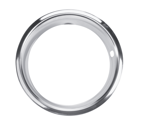 Set of 4 14 x 7 trim rings for 1968-1969 SSII and 1970-1972 SSII and III wheels, aftermarket.