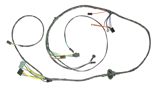 1964 72 chevelle monte carlo el camino electrical harnesses Engine Wiring Harness  pac wiring harness ac wiring harness diagram 1967 camaro Camper Wiring Harness Diagram