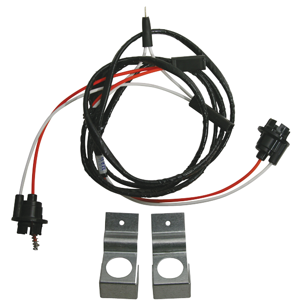 under dash courtesy light harness with mounting bracket for 1955-1956 chevy  models