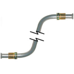 Transmission cooler line set for 1967-1972 A-body small block with 904 transmission. Original-type material.
