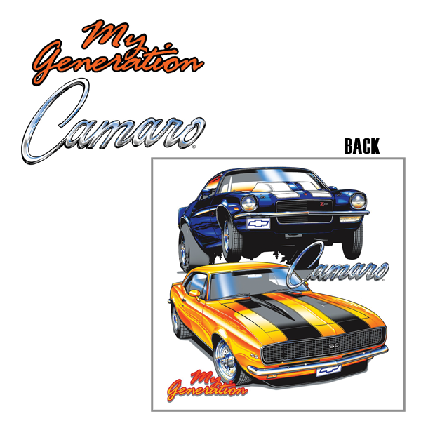 1967 81 Camaro Accessories Apparel Apparel Muscle Car T
