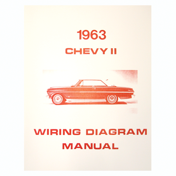 1962-74 Nova 1963 Chevy Ii Wiring Diagmanual