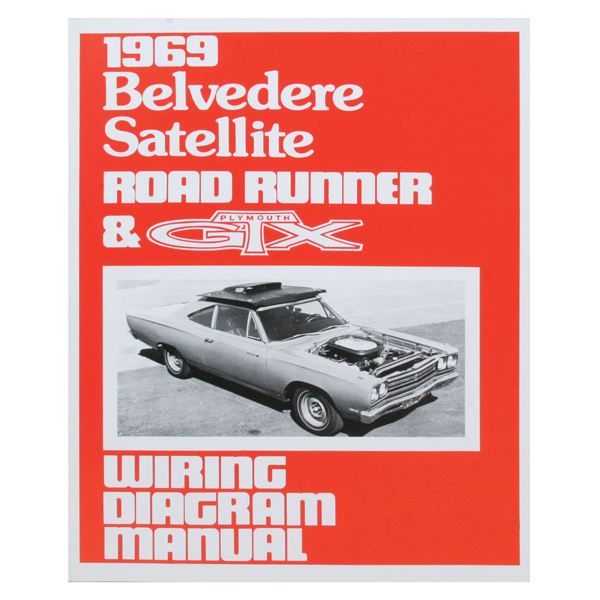 b body charger road runner super bee literature mp178